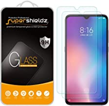 (2 Pack) Supershieldz for Xiaomi Mi 9 and Mi 9 Lite Tempered Glass Screen Protector, Anti Scratch, Bubble Free