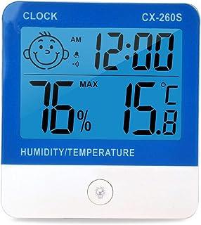 XYXZ Termómetro De Habitación Higrómetro Interior Digital Temperatura Digital Humedad Gestión De Temperatura Exterior para...