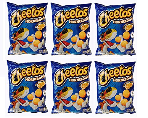 CHEETOS BOLIQUESO Horneados 20 grs. / Cheese Ball Puffs 7 oz - 6 Pack.