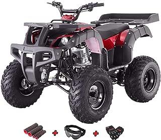X-Pro 250 ATV Quad Four Wheelers 250 Utility ATV Full Size ATV Quad Adult ATVs with Gloves, Goggle and Handgrip