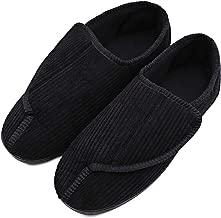Best mens velcro slippers for swollen feet uk Reviews