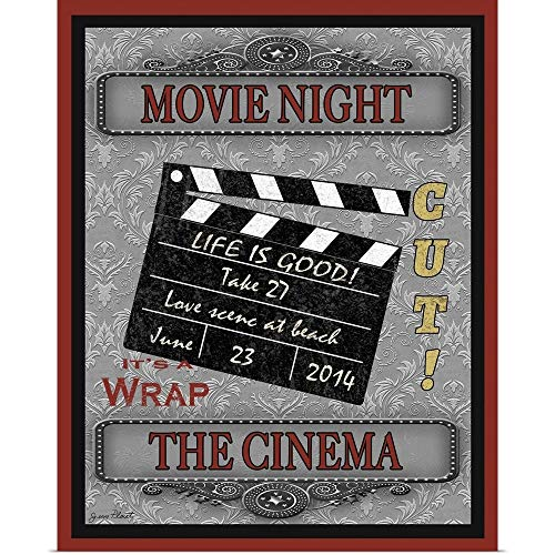 GREATBIGCANVAS Movie Night-Movie Poster Print, 16'x20'