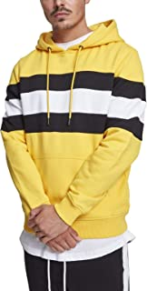 Urban Classics - Chest Striped Hoody Pullover