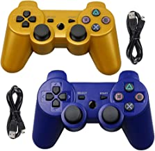 Tidoom PS3 Controller Wireless Playstation 3 Controller Bluetooth Gamepad Compatible for PS3 Controller Joystick with Char... photo