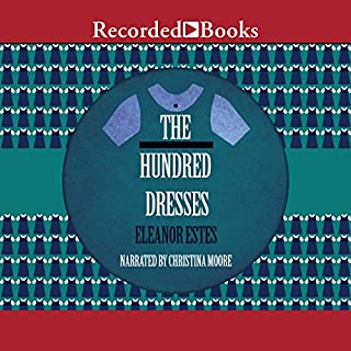 The Hundred Dresses audiobook cover art