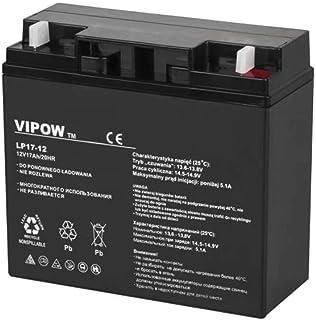 Vipow LP20 17 Blei Akku 12V 17Ah, Batterie 181 x 77 x 167 mm, wartungsfrei luftdicht Bleiakku Gelakku Gel akku