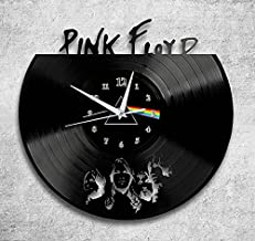 Home & Crafts Pink Floyd Handmade Design Vinyl Wall Clock Gift for Any Occasion Unique Birthday, Wedding, Anniversary, Wall décor Ideas for Any Space