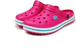 TWF Sharkies Lighweight Beach Shoe/Cloggs - Pink/Turquoise