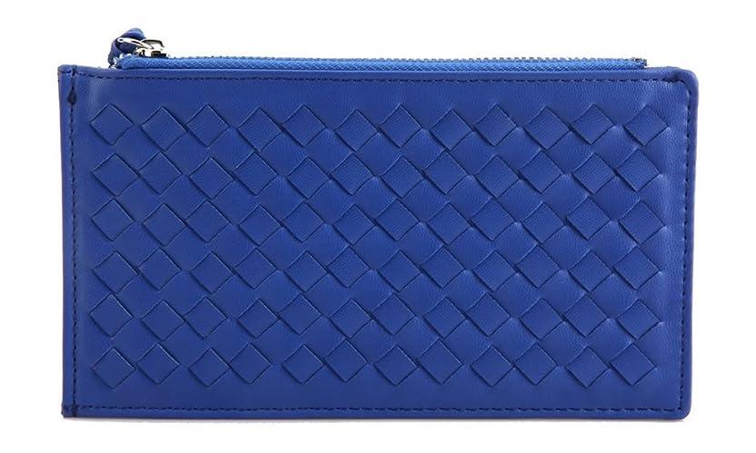 スキャン倍増世界メッシュ編み?薄手の長財布?カード財布