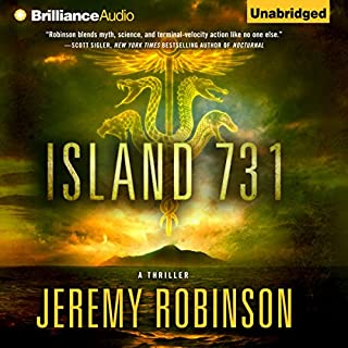 Island 731                   By:                                                                                                                                 Jeremy Robinson                               Narrated by:                                                                                                                                 R. C. Bray                      Length: 10 hrs and 46 mins     134 ratings     Overall 4.3