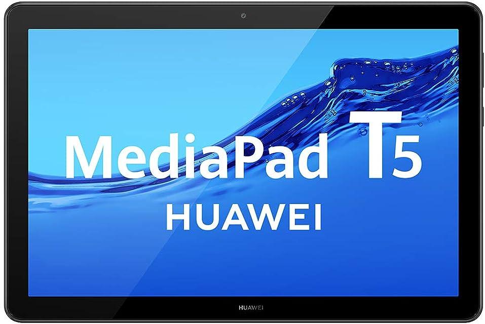 HUAWEI MediaPad T5 - Tablet de 10.1 FullHD (Wifi RAM de 3GB ROM de 32GB Android 8.0 EMUI 8.0) Color Negro