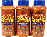 Country Bob's Seasoning Salt, 8 Ounce (Pack of 3)