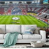 Fototapete Vlies Bayern München Stadion Choreo Immer weiter Arena Bundesliga Fußball Fans Wall-Art 384x260 cm