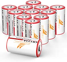 duracell cr123a rechargeable batteries