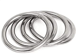 "0.25/"" Ring 1//4/"" A36 Steel Ring 6/'/' OD x 1/"" ID"