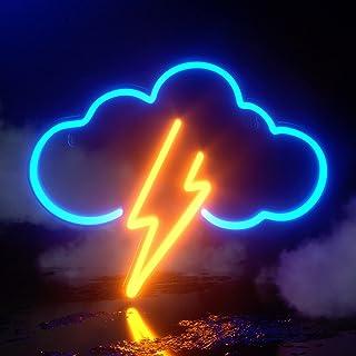 Koicaxy Neon Sign, Acryl Wolke Neon Light, Batterie oder USB Powered Neon Licht Wand Led Deko Neon Schild für Schlafzimme...