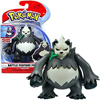 Pokémon Battle Figure Pangoro 4.5 Inches, Multi Color, PKW0010