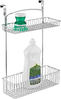mDesign etagere sous evier – rangement sous evier pour le papier aluminium, les éponges, les produits de nettoyage, etc. –...