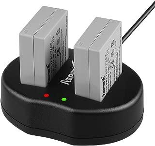 Asperx NB-10L Battery Charger Set Compatible with Canon PowerShot SX60 HS SX50 HS SX40 HS G15 G16 G1X G3X CB-2LC Digital Camera
