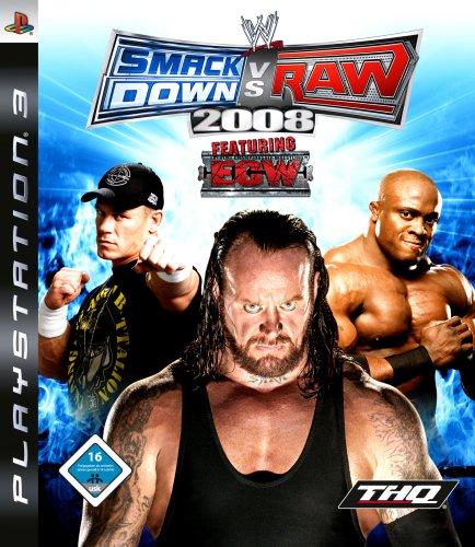 WWE Smackdown vs Raw 2008 [import allemand]