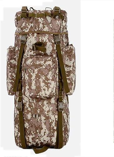 Ambiguity épaule Sac d'Alpinisme Plein air Bag Camouflage Support Double Fan d'armée de matériel Camping Bagages Sac à Dos Sac de Voyage