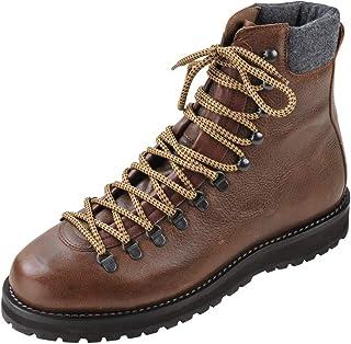 BRUNELLO CUCINELLI Chaussures Sale!! Homme Marron Sombre 100% Cuir Bottes de Combat 43