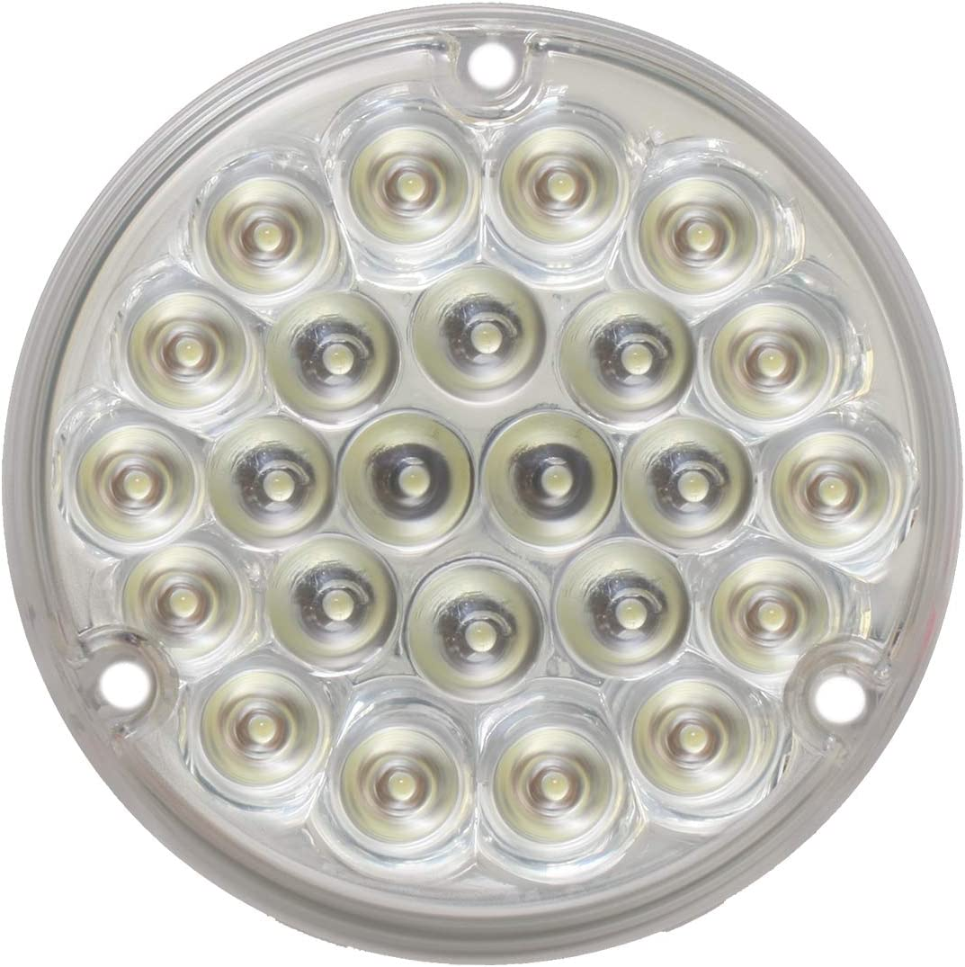 GG Grand General 76158 4 Inches Pearl Green//Clear 24 LED Light with #1156 Socket Base