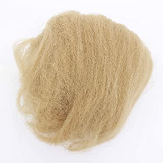 Tight Afro Kinky Bulk Hair For Dreadlocks Or Twist Braiding Hair(Light Brown)