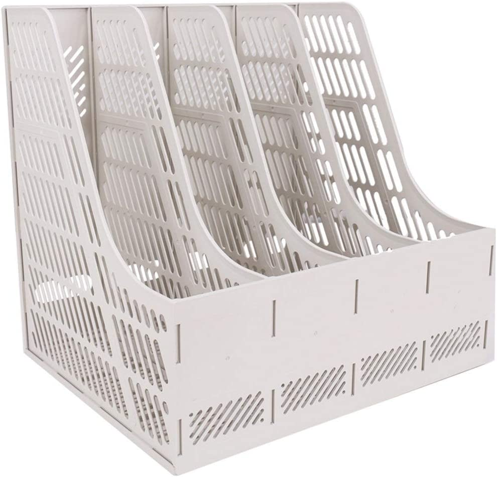 Teerwere File Sorter Organizer Box Supplie Quadruple Office New 70% OFF Outlet Orleans Mall