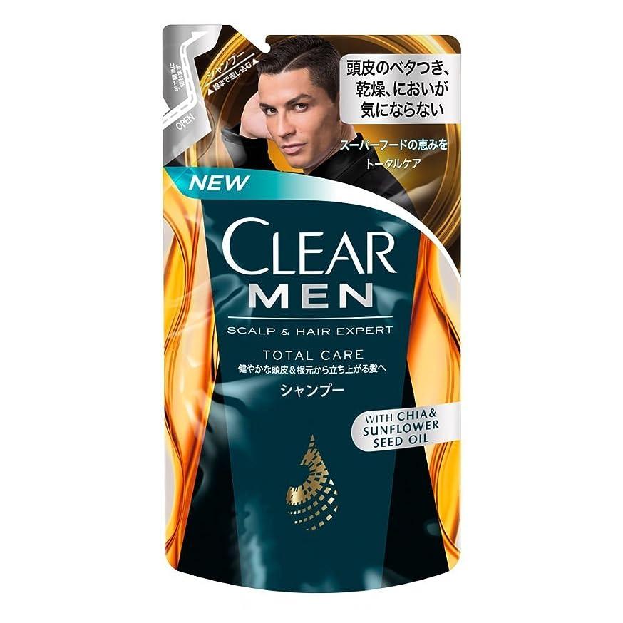 愛国的なきらめきプランタークリア フォーメン トータルケア 男性用シャンプー つめかえ用 (健やかな頭皮へ) 280g × 8個