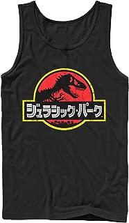 Jurassic Park Men's Japanese Kanji Logo Tank Top