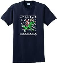 T-Rex Santa Ugly Christmas Sweater Themed T-Shirt