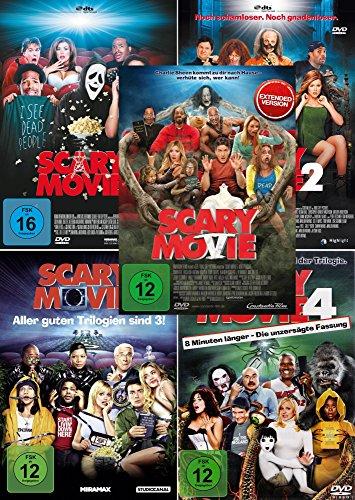 Scary Movie 1-5 [DVD]