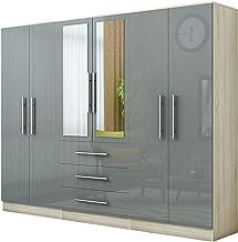 Amazon Co Uk Bedroom Wardrobes 4 Above Bedroom Wardrobes Bedroom Furniture Home Kitchen