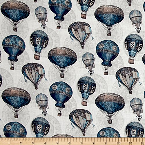 Stof France French Fantaisy Nacelle Quilt Fabric By The Yard, Multicolor