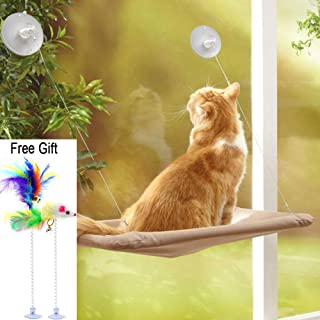 mounted cat window seat with suction cups