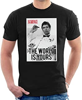 Scarface The World is Yours Men's T-Shirt