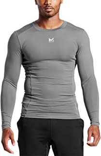 Mission Men's VaporActive Voltage Long Sleeve Compression Shirt