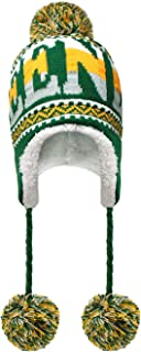 Football Pom Winter Hat with Matching Plush Classic Sports Teams and Cities, Ultra Soft Warmth and Outdoor Comfort