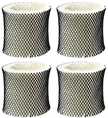 Nispira Humidifier Wick Filter Replacement Compatible with Holmes Type A HWF62 HWF62CSHM1281, HM1701, HM1761, HM1297 and HM2409, 4 Units