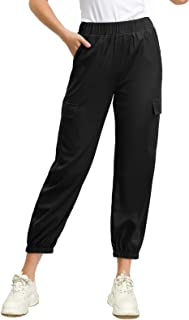 Women's Casual Baggy Hip Hop Pants Stylish Sport Harem Cargo Pants