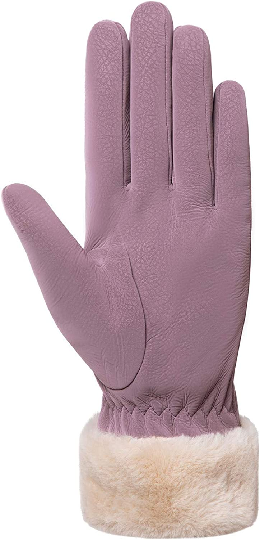 OMaikufl Women Winter Gloves Warm Touchscreen Gloves Windproof Gloves Soft