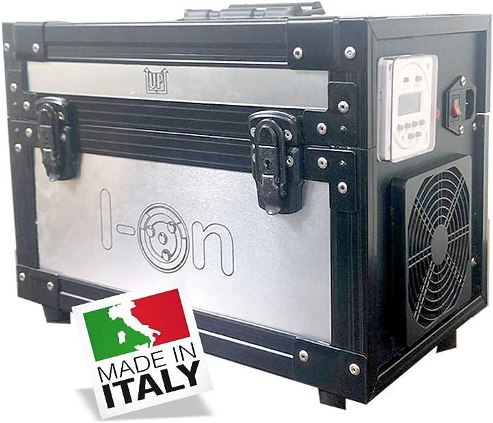 Generatore di ozono fino a 300m²,  i-on sanificatori  sanificatore ad ozono con timer digitale per ambienti B08L9HFP3M