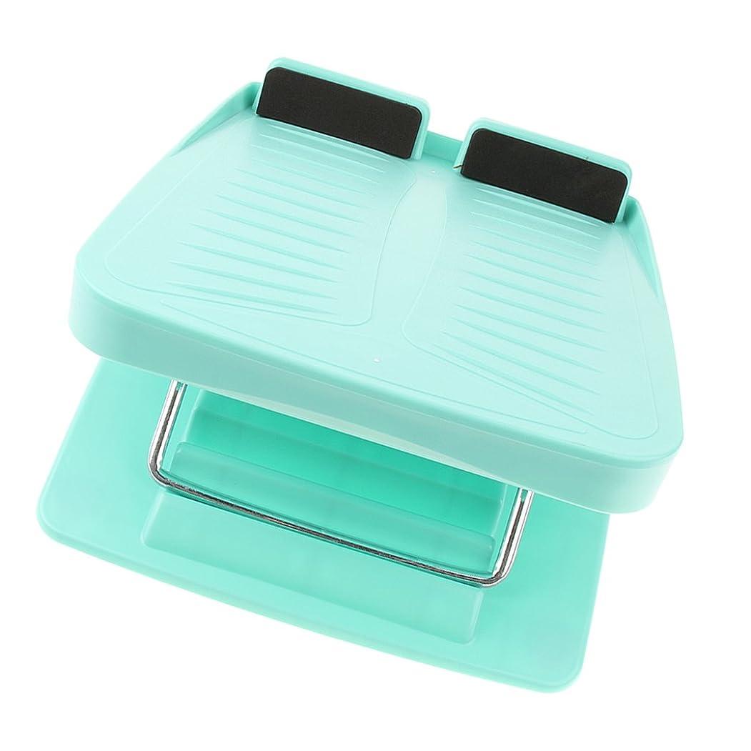 最終理想的ロデオsharprepublic 調整可能 スラントボード アンチスリップ カーフストレッチ 斜面ボード ウェッジストレッチャー 3色 - 青