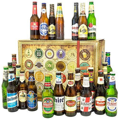 Biere der Welt 24 Flaschen / 24 Biere der Welt/Geschenk für Männer