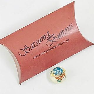 SatsumaButtons(薩摩ボタン)サツマボタン(15mm)単品【あじさい】SBB1-110
