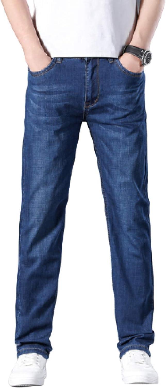 Mens Classic Straight Leg Regular Fit Stylish Denim Jeans All Waist Sizes