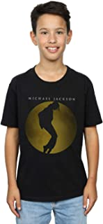 Michael Jackson Boys Moon Circle T-Shirt