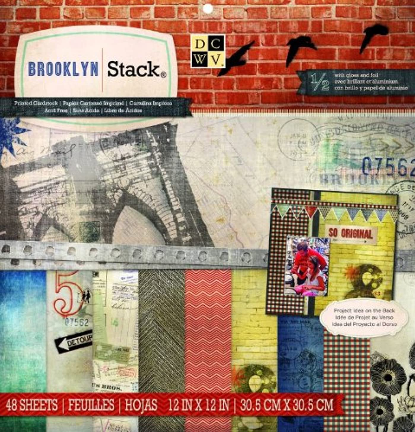 DCWV Brooklyn Stack, 12 by 12-inches