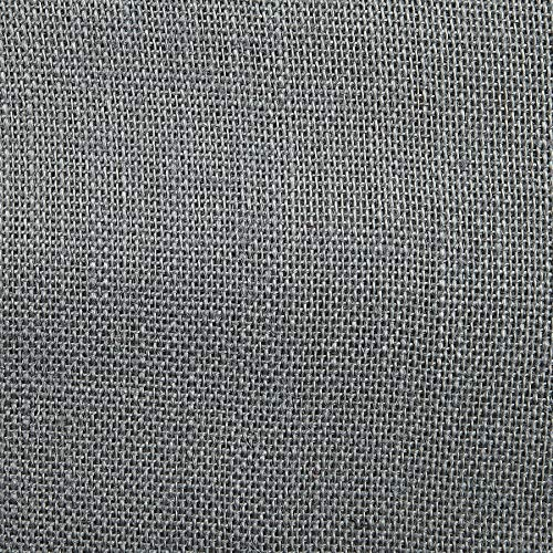 60' Sultana Burlap Smoke Charcoal, Fabric by the Yard